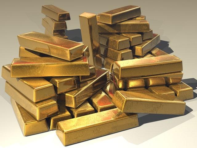 zlaté cihličky